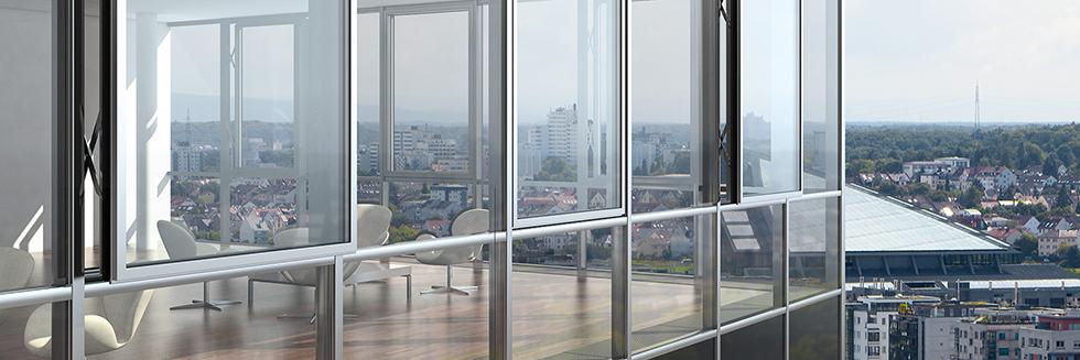 Панорамное остекление фасадов