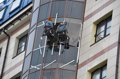 Ремонт и замена фасадного остекления
