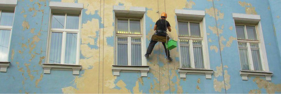 Пластиковые панели под кирпич для отделки фасада