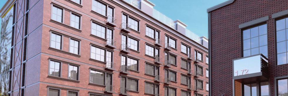 Вентилируемый фасад с облицовкой из клинкерной плитки