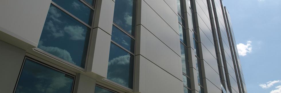 Вентилируемые фасады с облицовкой из композитных кассет