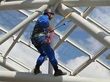 Комплекс работ по обслуживанию купола Хлебного дома в Царицыно