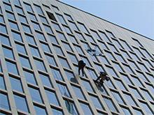 Фасадные работы в офисном здании на Профсоюзной д. 65