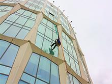 Замена остекления в БЦ «Nordstar Tower»