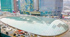 Капитальный ремонт купола торгового центра, Афимолл Сити