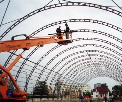 Монтаж металлоконструкций под ключ