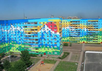 Покраска фасада здания стоимость